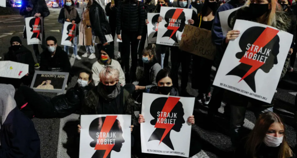 Protests Against Abortion Ruling in Poland