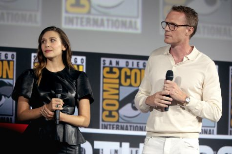 """Elizabeth Olsen & Paul Bettany"" by Gage Skidmore is licensed under CC BY-SA 2.0"