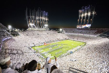 Full crowd at Beaver Stadium for the Penn State vs. Ohio State  game in 2018.