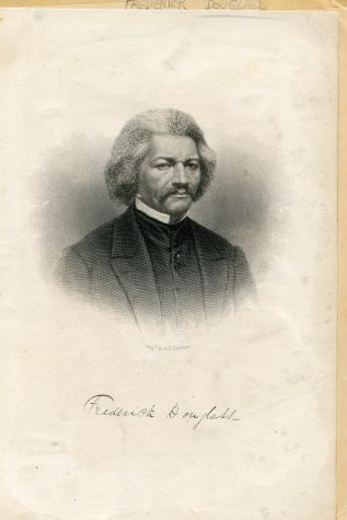 """""""Frederick Douglass as an older man: 1880 ca."""" by Washington Area Spark is licensed under CC BY-NC 2.0"""