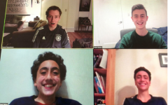 The VSS Team (Clockwise from top left: Daniel Rosenkranz, Noah Golden, Raphael Nahon, Louis Nahon) have been scheduling appointments for New Yorkers since the end of February, 2021.