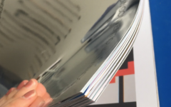 A 111-page FIT brochure made of cardstock paper and a mirror cover.